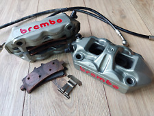 Brembo Grey Monoblock radial calipers 100mm