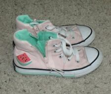 Converse Chuck Taylor All Star Sport Zip Watermelon Kids High Top Sneakers 13.5