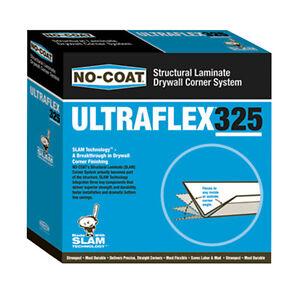 No-Coat Ultraflex 325 Flexible Drywall Corner Trim - 100' Roll *NEW*