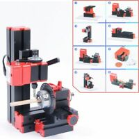 WOO CNC Mini Classic Lathe Tool 8 in 1 Milling Machine Sawing Driller Grinder
