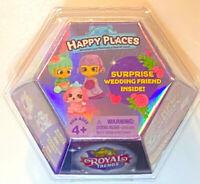 Shopkins Happy Places Royale Trends mini pack- surprise wedding friend inside!