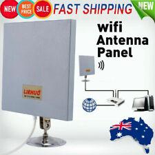 Antenna Panel 2.4 GHZ 14 DBI High Gain WiFi Wlan SMA Directional Long Range AU