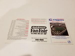 Columbus Clippers 1994 Minor Baseball Pocket Schedule - Merle Harmon's Fan Fair