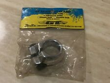 GT seat post clamp fit 22.2mm seat post old school bmx silver NOS