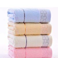 1 pc 70x140cm Bamboo cotton towel Bathroom beach Towel Towels unisex Gift AU2