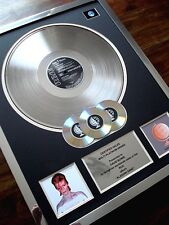 DAVID BOWIE ALADDIN SANE LP MULTI PLATINUM DISC RECORD AWARD ALBUM