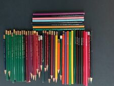 Vintage Colored Pencils Lot (Dixon, Connecticut , Eberhard Faber,& others)