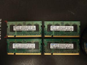 Samsung 4GB (1GB X 4) DDR2 PC2-6400 800MHz 200pin SODIMM (#7)