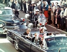1963-President John F. Kennedy in Dallas Moments Before Assassination