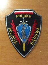 POLAND PATCH POLICE SPECIAL JUSTICE - ORIGINAL!