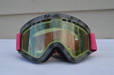 2017 NWT ELECTRIC EGV-W SNOWBOARD GOGGLES $80 pink tort brose/silver chrome