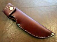 Custom Handmade Fixed Blade-Hunting Knife Blade Quality Leather Sheath-LS1
