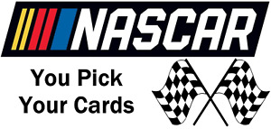 You Pick Your Cards🔥 NASCAR Base Relic #'d Auto Refractor Racing Card Selection