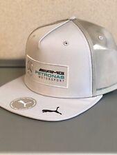 New 2020 F1 Season AMG Petronas Formula One Silver Arrows Flatbrim Hat / Cap SLV