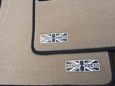 2 pcs Emblems Logo Badge Sticker Car Floor Mats for Range Rover Vehicles