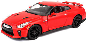 Nissan GT R R-35 (2017) in Red (1:24 scale by Bburago 18-21082)
