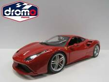 1/18 BURAGO - FERRARI 488 GTB - BBURAGO COURSE- AND -PLAY