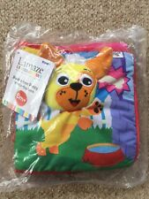 Lamaze Flip Flop Soft Fabric Book/toy for Baby/toddler Peekaboo I Love You