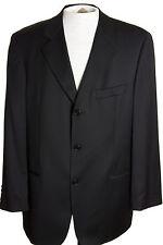 Hugo Boss Einstein Mens 40R Black Blazer Sports Coat Suit Jacket USA
