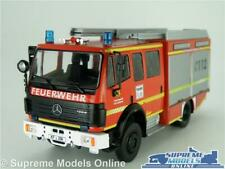 MERCEDES 1224 FIRE ENGINE MODEL TRUCK LORRY 1:43 SCALE IXO RED FEUERWEHR K8