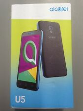 BRAND NEW GENUINE ALCATEL U5 4047X 3G BLACK UNLOCKED & SIMFREE IN ORIGINAL BOX