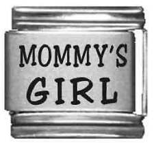 Clearly Charming Mommy's Girl Laser Italian Charm