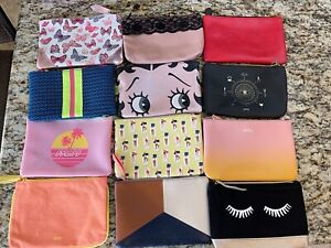 NEW IPSY Cosmetic Zip Makeup Bags-YOU CHOOSE ONE