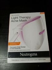 SEALED LIGHT THERAPY ACNE MASK with 1 Activator 30 Daily Treatment Sessions NEW
