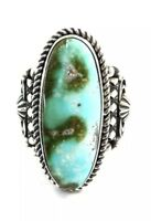 Native American Sterling Silver Navajo Royston Turquoise Ring Size : 9.5