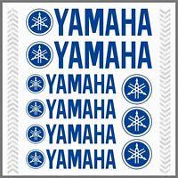 9pcs ADESIVI Blu compatibile con YAMAHA XT 660 1200 Z TMAX TDM XV YS WR Majesty
