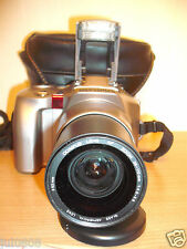 OLYMPUS IS-21 35MM FILM BRIDGE CAMERA~28-110MM 4X HIGH RESOLUTION LENS (71JY13)