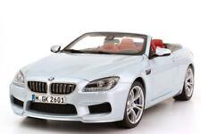 1:18 BMW M6 Cabrio 2012 F12 silverstone-II silber silver Dealer-Edition Paragon