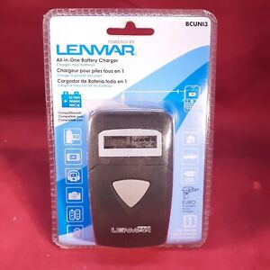 LenMar Universal Battery Charger Li-Ion, NiMH w/ USB and LED Indicator [BCUNI3]