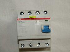 1x ABB FI-Schutzschalter F204A-63/0,3 63A 300mA 4-polig