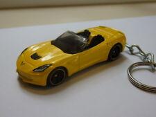 Hot Wheels '14 Chev Corvette Stingray Keyfob Keychain Keyring