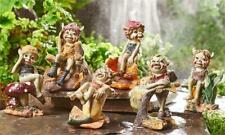 6 Pixie Figurines Statues Ornaments Home and Garden Decor Elves Whimsical 3 in.