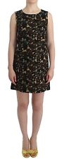 NWT DOLCE & GABBANA D&G Green Camouflage Mini Shift Dress Sheath IT42/US8