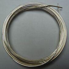 Silberdraht-Ring (mit Kupferkern) Stärke 1,15mm, 3m (versilberter Kupferdraht)