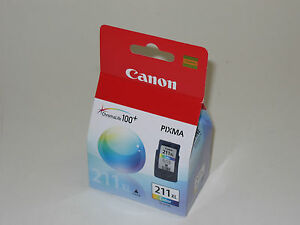 Genuine Canon CL-211 XL high capacity color ink CL 211 iP2700 iP2702 MX360 MX420