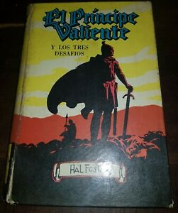 PRINCE VALIANT and the 3 challenges   ARGENTINA book 1973 HAL FOSTER