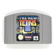 The New Tetris N64 Game USED