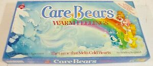 VINTAGE PARKER BROTHERS ~ CARE BEARS WARM FEELINGS BOARD GAME ~ COMPLETE