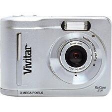 Vivitar ViviCam 3750 3.1 MP Digital Camera - Silver- BRAND NEW IN BOX-FREE SHIP