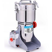700g Swing Ultrafine Medicine Grinder Electric Herb Grain Grinding Machine 220V