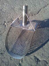 """Big Sand Scoop """"Standart 7.5"""" Metal Detector Tool from Genuine Stainless Steel"""