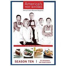 America's Test Kitchen 10th Tenth Season 10 Ten NEW FACTORY SEAL DVD 26 Episodes