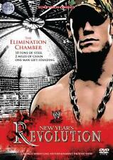 WWE New Year's Revolution 2006 Dvd Brand New & Factory Sealed