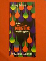 Club Kinetic rave flyer / flyers - April 1993 Mint