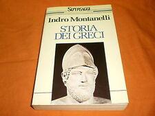 INDRO MONTANELLI STORIE DEI GRECI BUR 1989