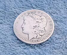 1893 Rare Carson City Morgan Silver Dollar (EF)